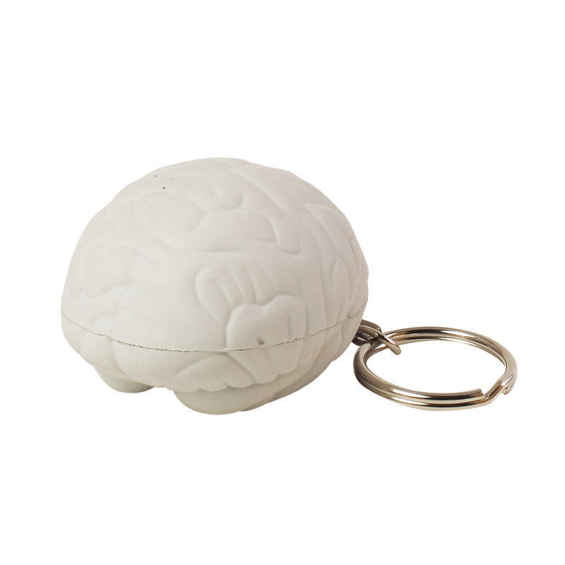 Brain Stress Ball Keychains