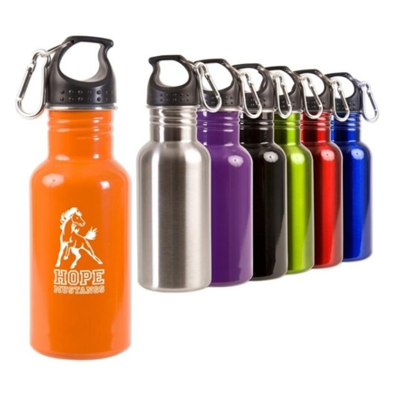17 oz Stainless Steel Sports Bottles