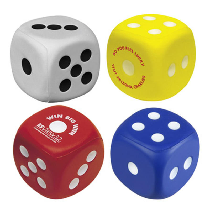 Slot machine stress ball