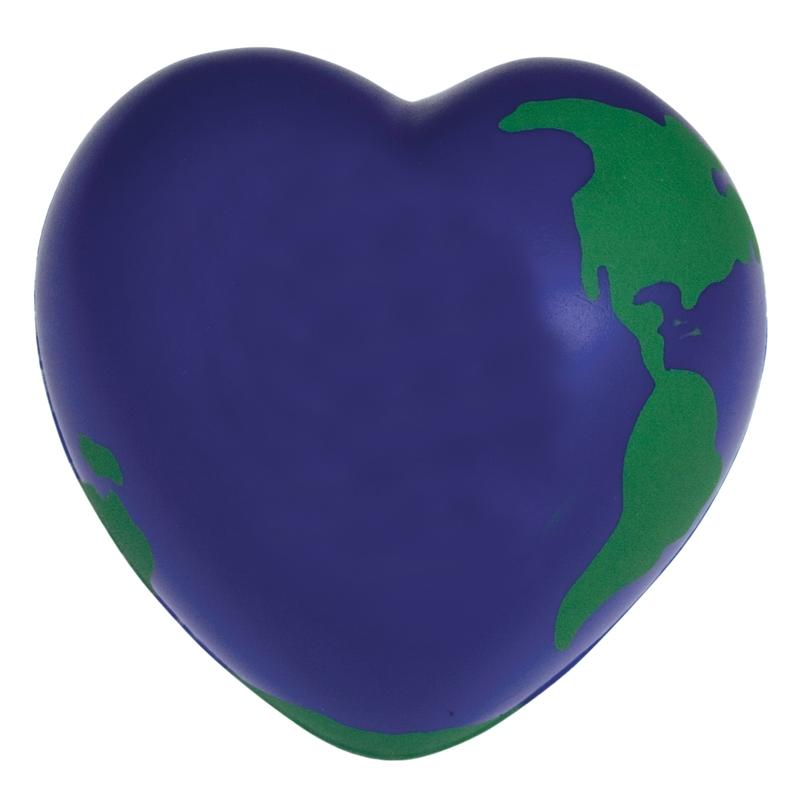 Earth Heart Stress Balls
