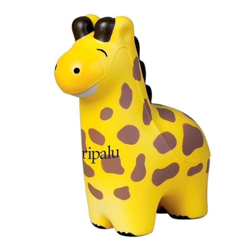squeeze giraffe stressballs version b custom printed