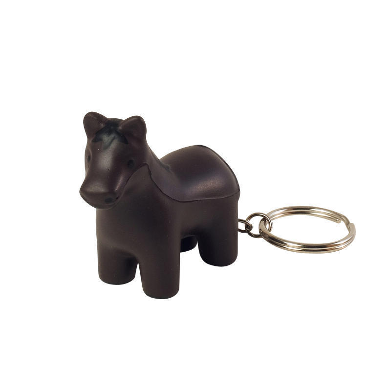 Horse Stress Ball Keychains