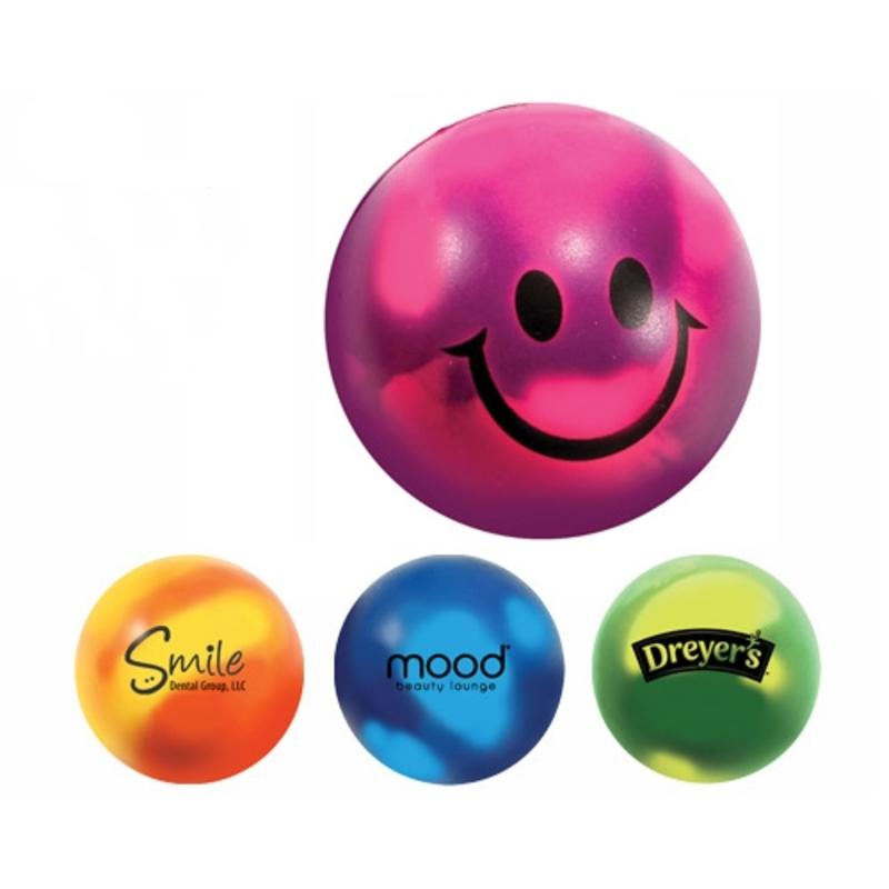 Mood Changer Smiley Face Stress Balls