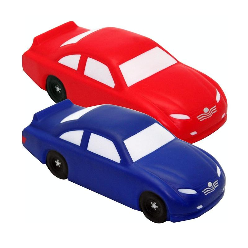 Stock Race Car Stress Balls - Version B