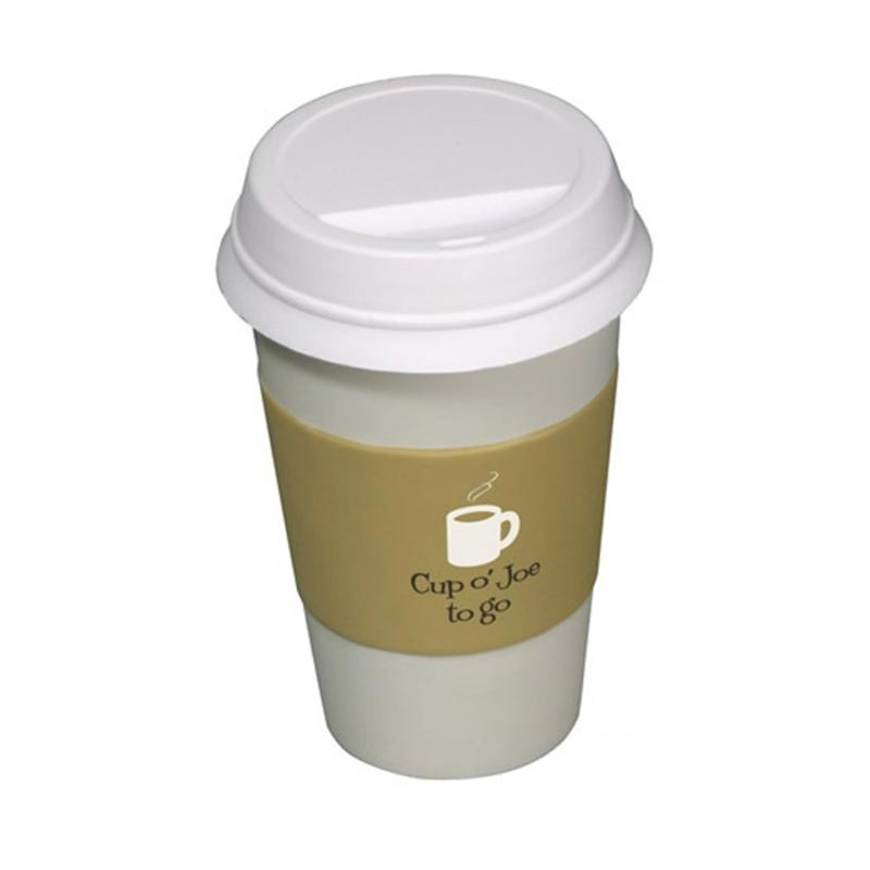 Squeeze coffee cup stress balls custom printed save up to 11