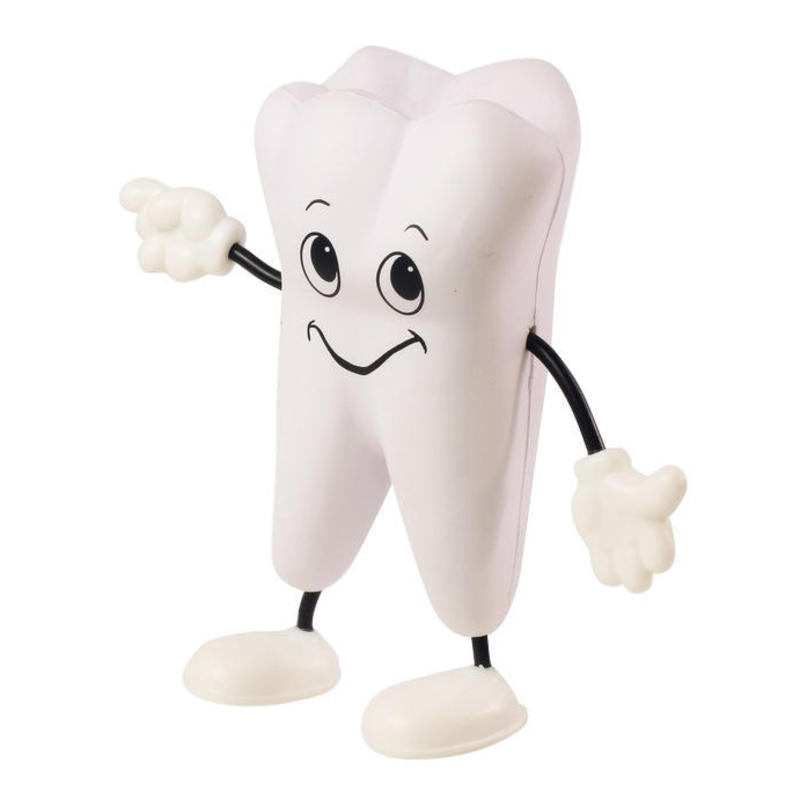 Tooth Bendable Figure Stress Balls